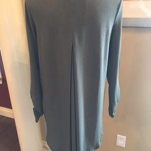 Green tunic top